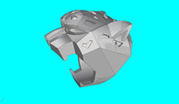 panther ring 3d model