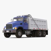 dump truck generic simple 3d c4d