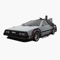 delorean future max