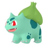 bulbasaur pokemons 3d max