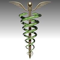 3d model medical symbol