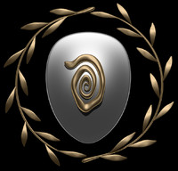 olive shield crest 3d 3ds