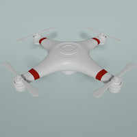 obj quadcopter drone quad