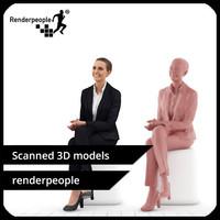 3d photorealistic human julia 0280