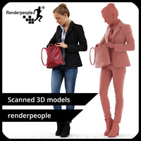 3d photorealistic human petra 0164