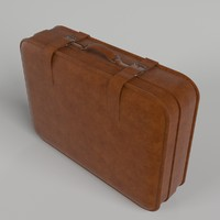 suitcase rendered scenes 3d max