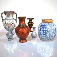 3d 6 vases model
