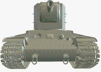 ma kv-2 heavy tank