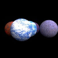 planets alien 3d 3ds