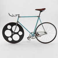 vintage fixed gear 3d max