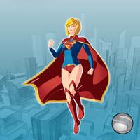supergirl 3d model