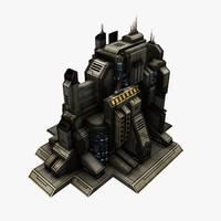 Sci-Fi Building Short 4