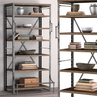 3d rack french library