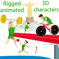rio 2016 olympics pack 3d 3ds