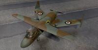 3d model miles m 35 libellula