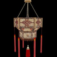 chinese palace lampe 3d max