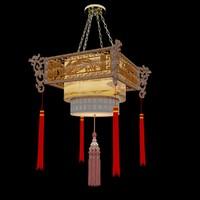 obj chinese palace