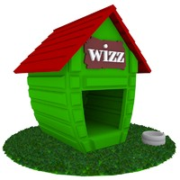 3d model house dog