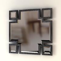 eichholtz valencia mirror 3d dxf