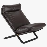 3d armchair cross arflex