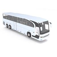 coach bus obj
