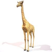 3d model giraffe realistic