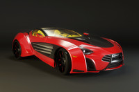 3d laraki epitome sports car
