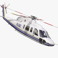 max helicopter sikorsky s76 rigged