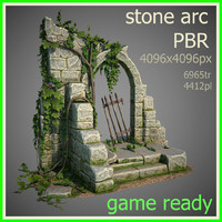 real time arc 3d model