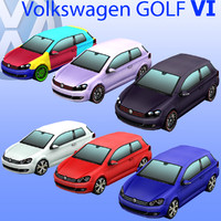 max volkswagen golf car