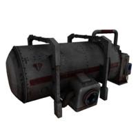 3d model cistern electronic
