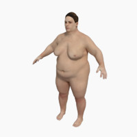 3d model nude fat women