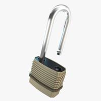 3d lock model