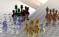 Star of David Staunton-inspired Chess set by MILOSAURUS