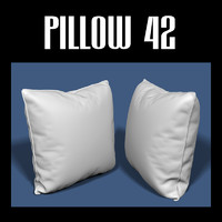 3d model pillow interiors