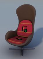 arm chair 3d fbx