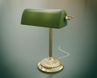 Banker's Lamp (Emeralite)