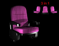 fbx modeled chair