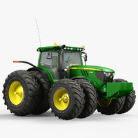 3d utility tractor john deere model