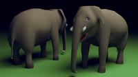 obj elephant