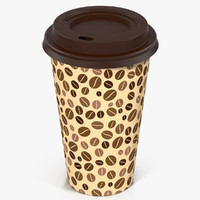 max coffee cup takeout design