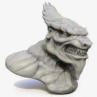 3d model werewolf mutant