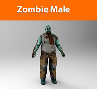 max zombie male character