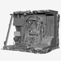 3d capsule navigation