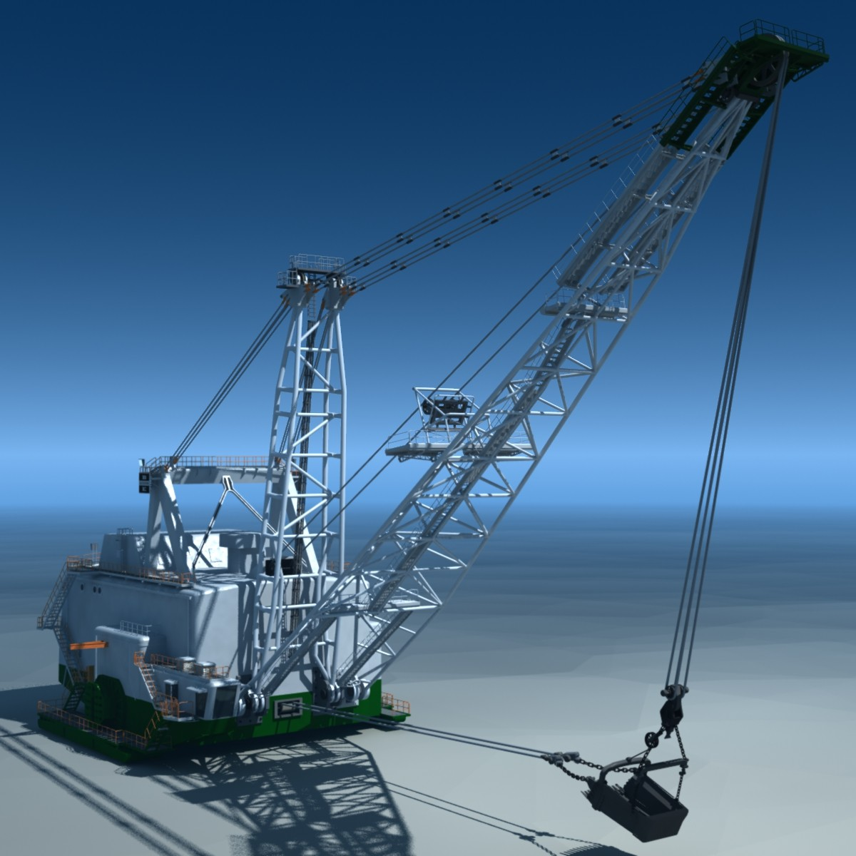 Bucyrus Erie 8750 Dragline-Model-A.jpg