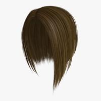 donna hair 3d model
