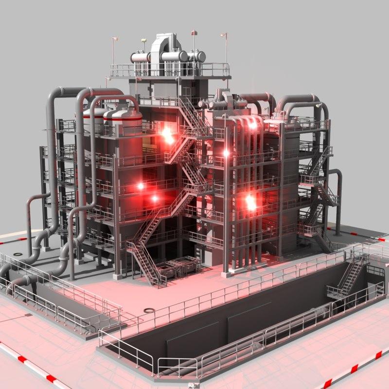 Refinery Complex 3d model.jpg