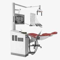 3d dentist chair model