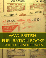 WW2 Fuel Ration Book