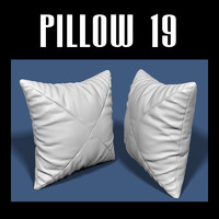 pillow interiors obj